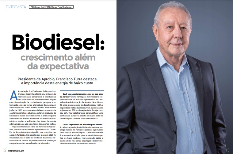 Biodiesel:crescimento alémda expectativa