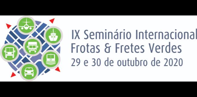 IX Seminário Internacional Frotas & Fretes Verdes acontece em 29 e 30 de outubro