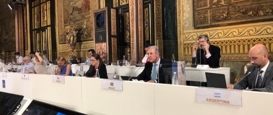 Ministro Bento Albuquerque participa da reunião Ministerial Conjunta sobre Clima e Energia do G20
