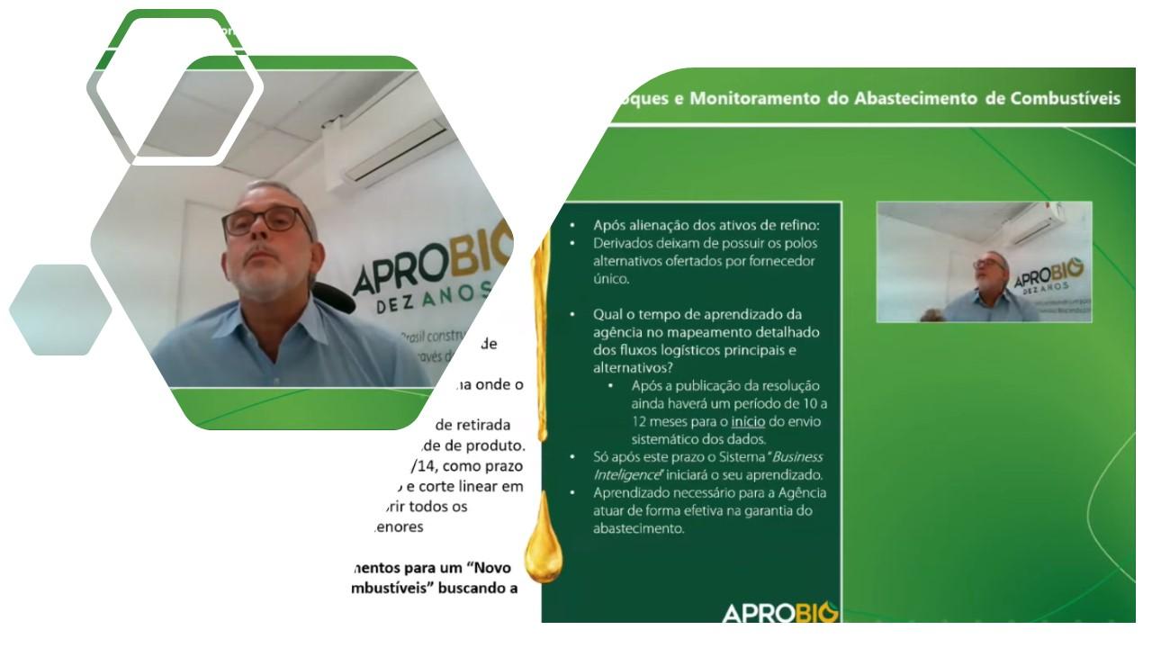 APROBIO destaca importância das sistemáticas de controle de estoque e garantia do abastecimento implementadas para uma transição para o novo sistema de comercialização (Downstream) sem comprometer o cumprimento da mistura obrigatória