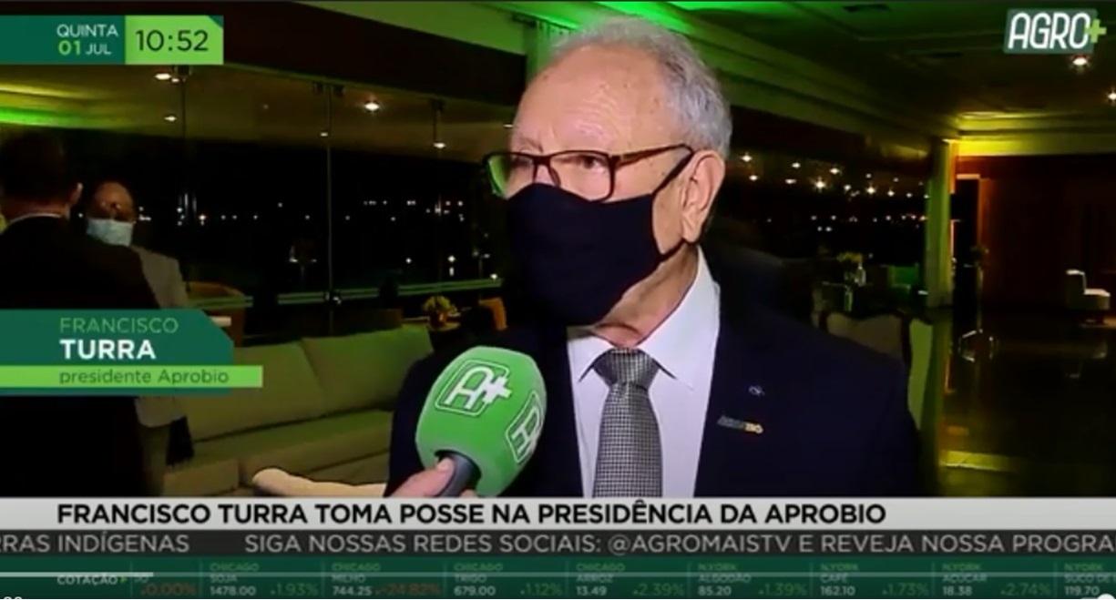 Francisco Turra toma posse na presidência da APROBIO l AgroMais