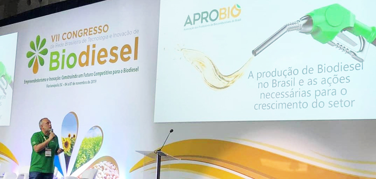 Indústria do biodiesel atende demanda crescente por biocombustíveis e conta com estudos acadêmicos para desenvolver o setor, diz Julio Minelli