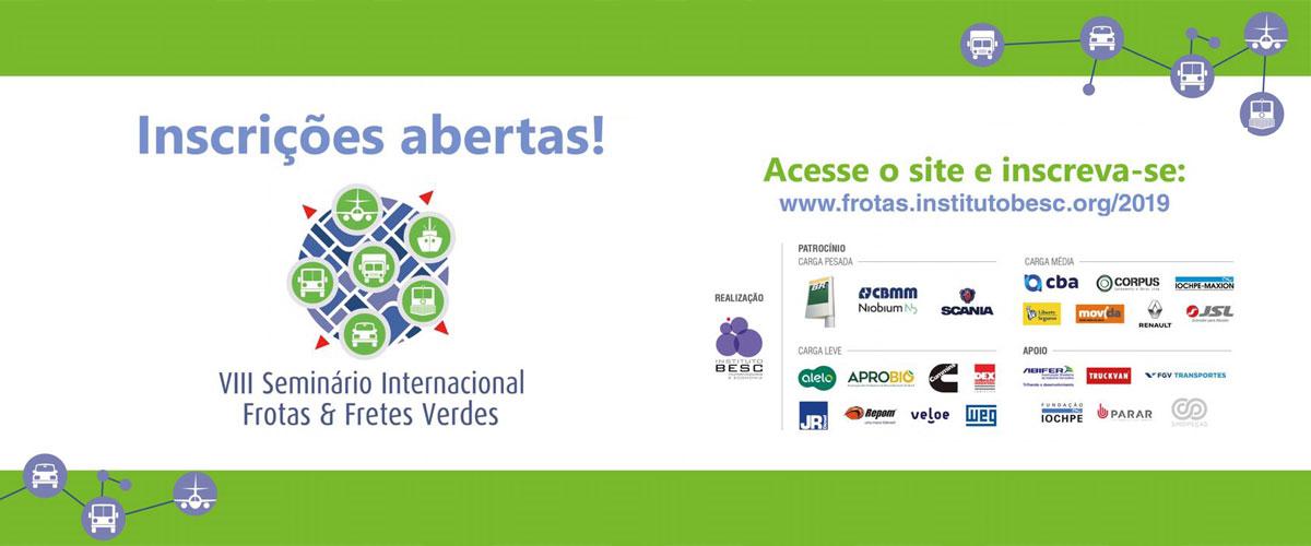 VIII SEMINÁRIO INTERNACIONAL FROTAS & FRETES VERDES