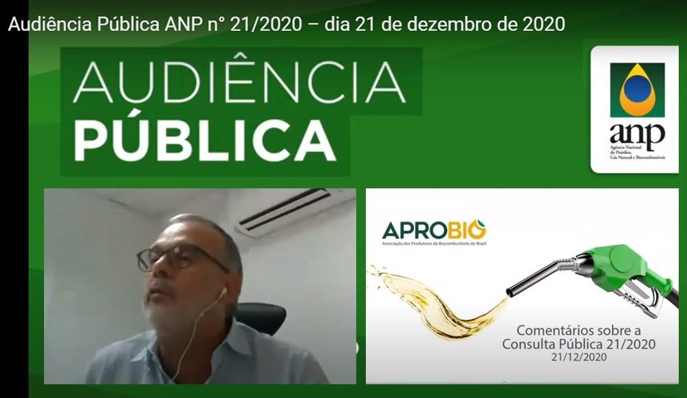 APROBIO participa de Audiência Pública ANP sobre redução de metas individuais do RenovaBio