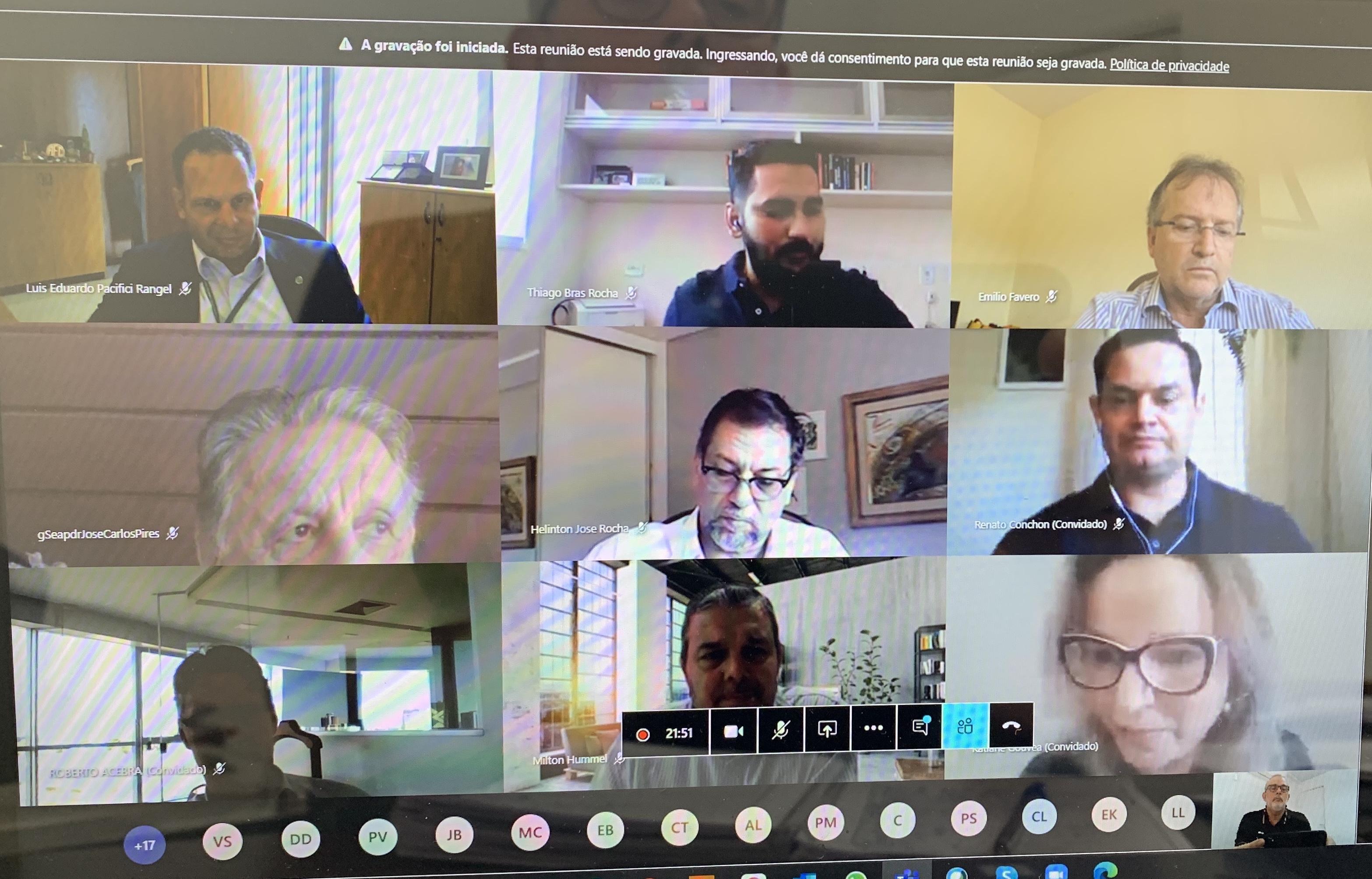 Segunda Reunião do Grupo de Trabalho Intercâmaras sobre Tributação do MAPA une forças em torno de objetivos comuns