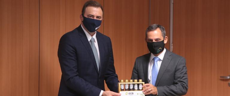 MME e ECB Group conversam sobre diesel verde