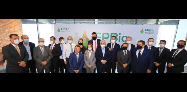 FPBio empossa deputado federal Pedro Lupion como presidente na presença dos ministros Tereza Cristina, Marcos Pontes e Tarcísio Freitas - ministro Bento Albuquerque foi representado pelo secretário José Mauro Coelho