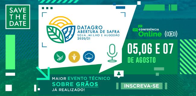 DATAGRO Abertura de Safra Grãos - Soja, Milho e Algodão 2020/21