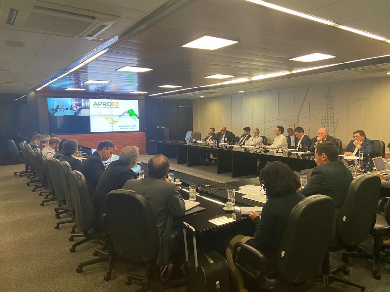 APROBIO participa de reunião sobre mudanças no modelo de comercialização do biodiesel