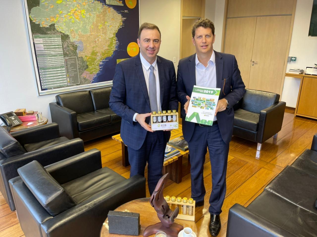 Ministro do Meio Ambiente reafirma compromisso com o biodiesel